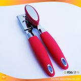 Can Opener, Manual Can Opener Smooth Edge, Easy to Open, Ergonomic/Heavy Duty/ Commercial and Professional Side Cut wit