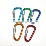multifunctional bulk multifunction horse head shaped carabiner hook with key ring factory wholesale