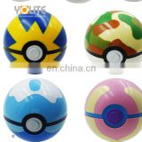 Mini Model Anime Pikachu Super Master Ball Action 9 Colours Pokemon Go Poke Ball Pokeball