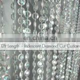 12FT Decoration Wedding Acrylic Plastic Beaded Curtain