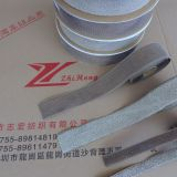 Silver Fiber Eco-friendly  3m Hook And Loop Tape