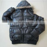 mens black padded jacket,2012 Winter Season