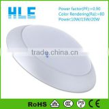 laminated gypsum ceiling lamp,CE standard,led ceiling surface mount light,waterproof and fire rated