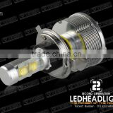 2014 New Arrival manufacturer 40W 3000LM 19v -32v h4 led headlight bulb