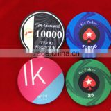 10g ceramics poker chips