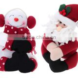 the Bottle Santa Claus Snowman Originality Chirstmas Decoration Cloth Dolls Awesome Gift for Christmas