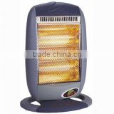 ningbo 3heat halogen heater 1200W 800W 400W with remote control cixi heater,zhejiangcixi