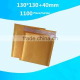 Kraft bubble material poly bubble bags pe coated yellow kraft paper for bubble envelope custom logo                                                                         Quality Choice