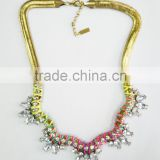 Statement Necklace, New Fashion Acrylic Crystal Jewelry Statement Necklace , Statement Necklace Wholesale PT2151
