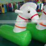 inflatable pony rider
