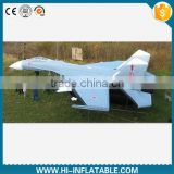 Hot sale inflatable inflatable replica plane for military decoy