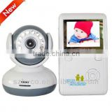 NEW Style Wireless Baby Monitor 2.4 inch TFT LCD Wireless monitor to Night Vision Two Way Talk
