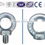 DIN580 forged eye bolt and DIN582 eye nut
