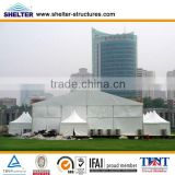 2013 multifunctional wooden flooring big outdoor campaign tents for sale