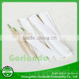 individual Wood Mint flavored paper wrap toothpicks                                                                         Quality Choice