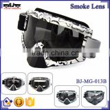 BJ-MG-013B Manufacturer Adult Smoking Beard Frame Custom racing motocross goggles