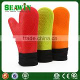 Food Grade BBQ Kitchen Cooking Silicone Oven Gloves