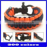 wholesale paracord bracelet with guitar pick
