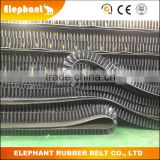 Clapboard Sidewall Conveyor Belt/Steeply Inclination Rubber Belt for Cantilever type Electronic Belt Scale