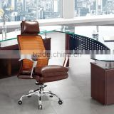 modern style high quality brown leather chair factory sell directly SY23