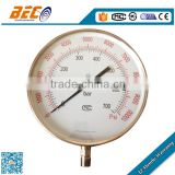 (YBF-250A) 250mm unique special super large size single pointer high pressure good accuracy oil type dial gauge manometer