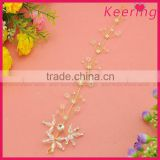 Girl acryilc bridal wedding hair accessories made in China WHD-020