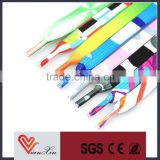 satin ribbon metal tip shoelace