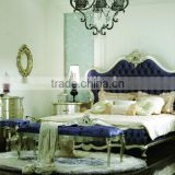 bed and night stand and dressing table and wardrobe / new classical bedroom set / solid wood bedroom set GD-A8001