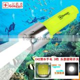 C42 T6 High Power dive flashlight