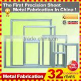 custom high precision CNC machining sheet metal frame for building construction