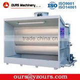 Water Curtain Spray Booth with Exhaust Air System 2.2 KW axial flow fan for furniture painting