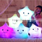 LED Plush Star Shape Pillow Cushion