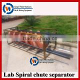 lab spiral chute equipment, lab testing equipments for mineral