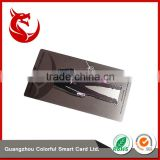 Different background design brushed metal stainless steel business card                                                                                                         Supplier's Choice