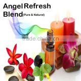 Sweet Orange, Lemon, Spanish Rosemary, Frankincense, Tea Tree & Eucalyptus Essential Oil Blend.