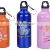 2014 cheap single wall aluminium water sports bottle painting color with silicone China manufacturer