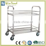 Hotel banquet equipment, food & beverage trolleys, wine food transport trolley