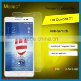 Wholesale high quality 9H 2.5D Tempered Glass screen protector for Coolpad T1 mobile phone film