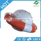 Funny water game mobile toy,inflatable water park equipment,inflatable iceberg water toy