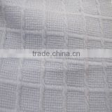 polyester self-stripes checks coarse knit jacquard fabric, knit breathable jacquard suiting fabric
