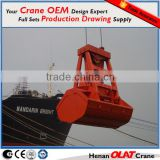 Remote control grab bucket use for Cargo ships