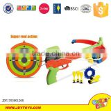 Hot sale product sport toy archery bow dart board set for kids