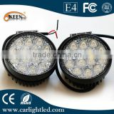 High Power 42W 12/24V Spot Driving Lighting LED Work Light Bar Round For Offroad Vehicle