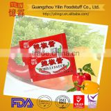 6g hot chili sauce sachet mini package hot sale product