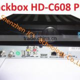 Black Box HD C608 Plus 2014 newest Singapore hd cable receiver with wifi can watch HD channels