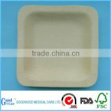 Wholesale Chinese Bulk Disposable Wooden Dinner Plate