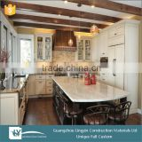 2015 modular white kitchen dining room furniture, buy kitchen cabinet from guangzhou furniture market