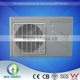 Plastic shell in tube heat pump microprocessor automatic control water based air conditioner COP 5 heat pump