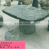 china cheap outdoor stone tables and benches