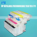fit for HP Officejet Pro 8100 8600 8610 8620 8630 8640 8660 8615 8625 251DW rechargeable cartridge HP950/951 refillable ink car.